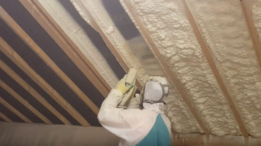 Spray foam from CPI video